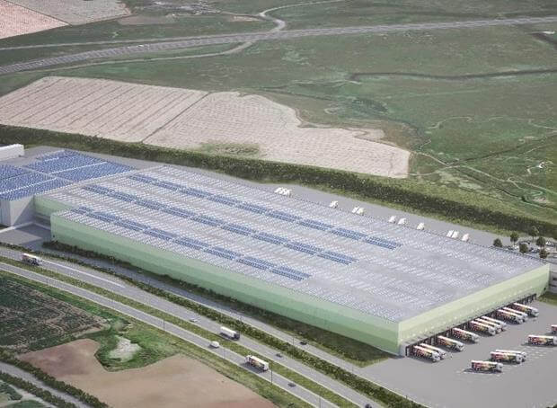 New £50m Aldi distribution centre to open on Isle of Sheppey in 2019