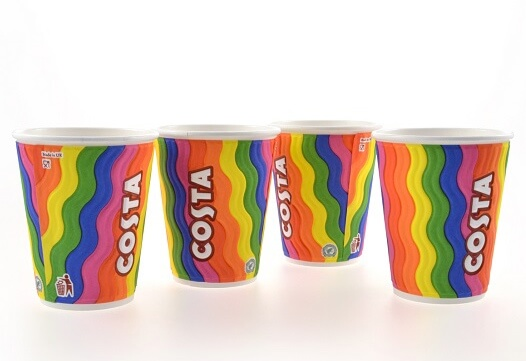 Costa launches limited-edition rainbow cups to celebrate Pride