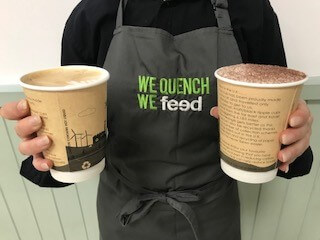 Kudos introduces eco-friendly coffee cups across all venues