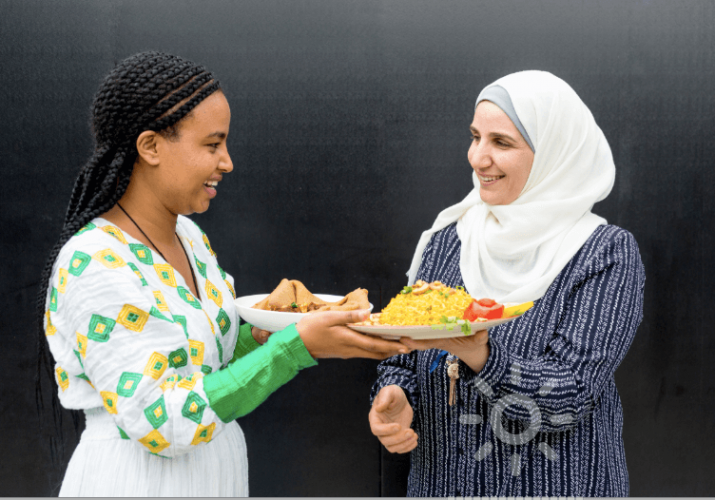 Deliveroo teams up with refugee chefs for Refugee Week