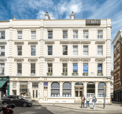 New restaurant space available at The Lady offices in Covent Garden