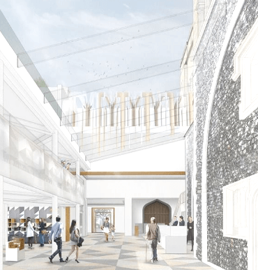 Norwich Castle plans for new £13.5m visitor entrance, cafe & shop