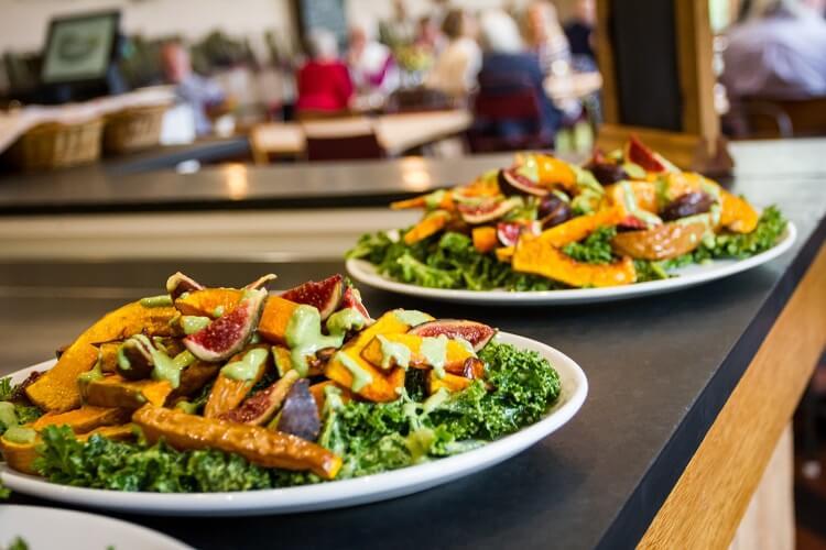 Riverford Field Kitchen awarded 5-star organic food rating