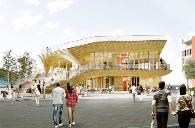 10,000 sq ft Olympic Park restaurant pavilion gets go ahead