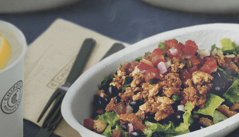 Chipotle launches first vegan protein menu item