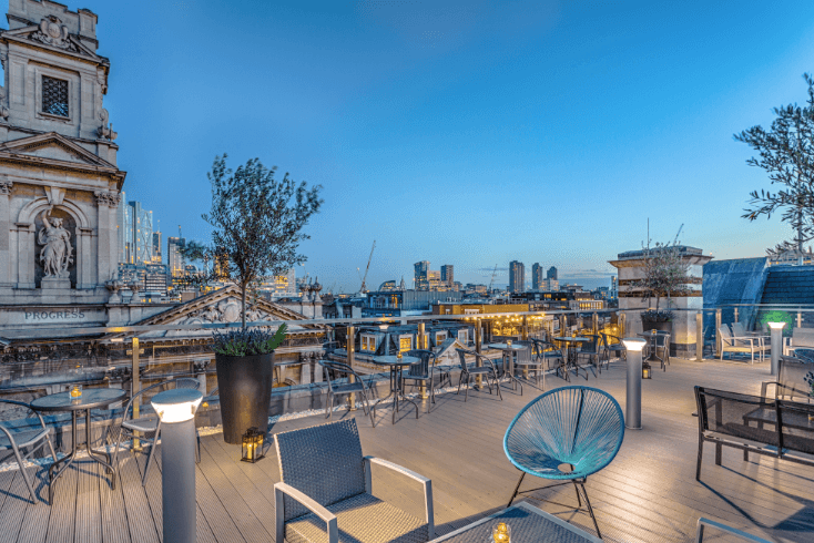 Courthouse Hotel Shoreditch launches rooftop bar
