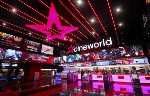 Cineworld sees profits soar following Regal acquisition