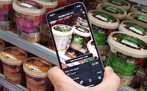 M&S speeds up lunchtimes with mobile scan & go rollout