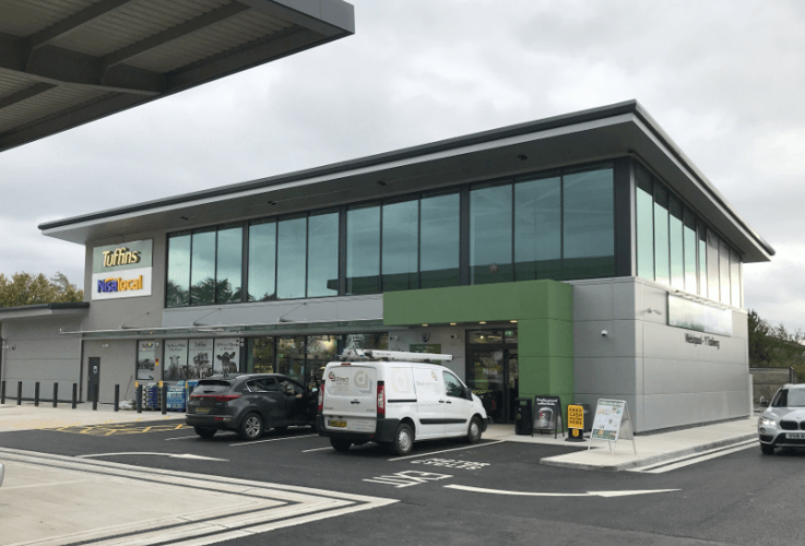 Forecourt of the future opens in Welshpool