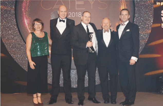 Simon Boyle scoops top award at Foodservice Cateys 2018