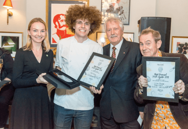 Five Fields chef wins best in UK accolade for Irish oyster dish