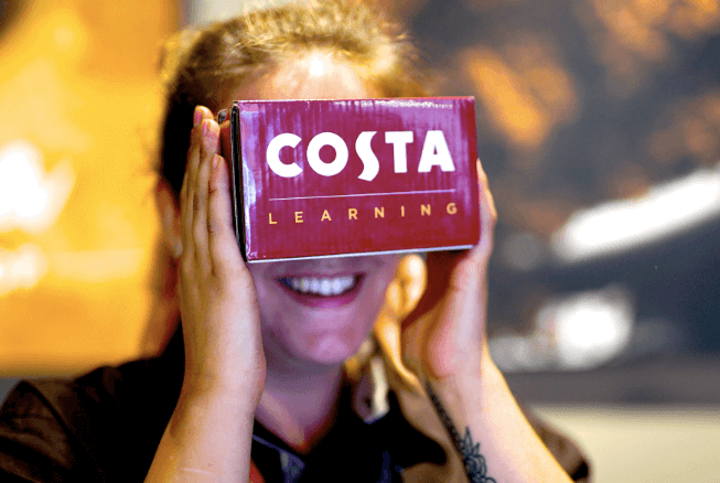 Costa Coffee introduces Virtual Reality training programme