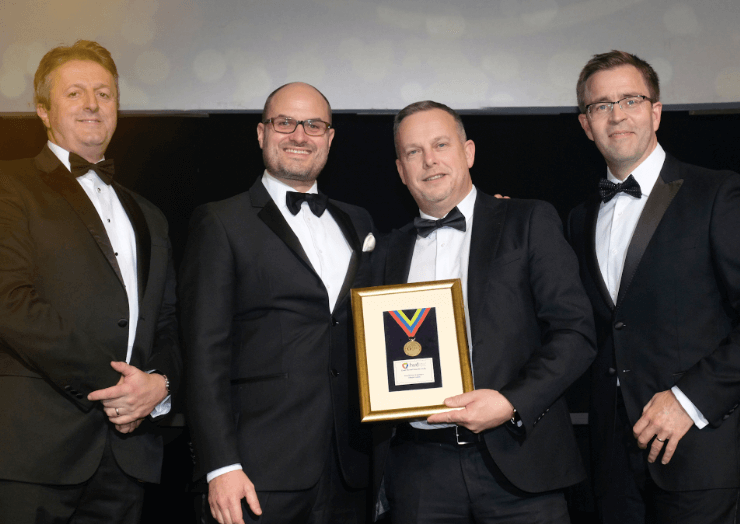 Aimia Foods wins gold at Federation of Wholesale Distributors Awards