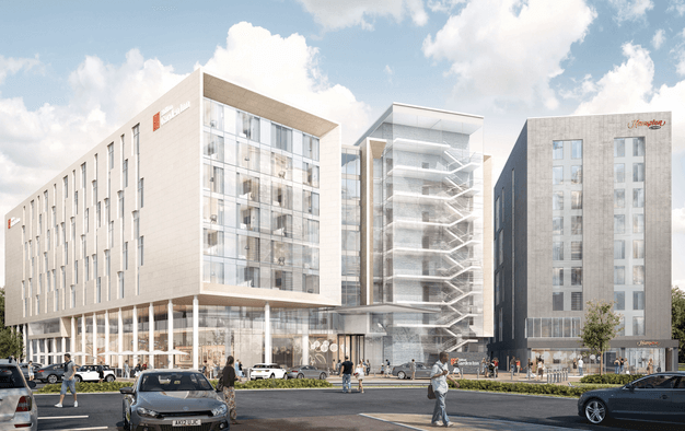 Two Hilton hotels set for £100m Manchester Airport  scheme