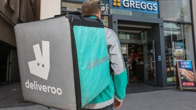 Greggs expands Deliveroo trial