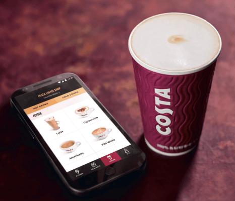 Costa launches pre-ordering option through app