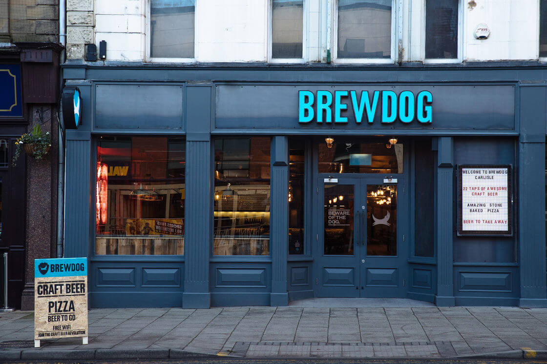 BrewDog launches first bar of 19 set to open this year