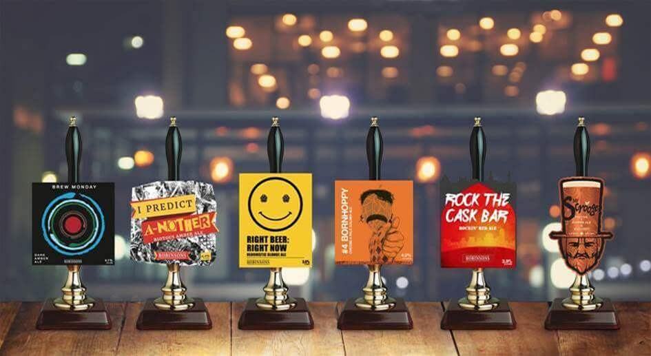 Robinsons launches mix-tape of music-themed seasonal beers for 2019