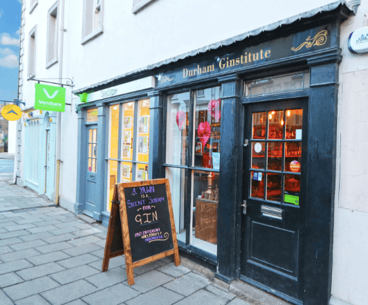 Specialist gin store in Durham city centre seeks new owner