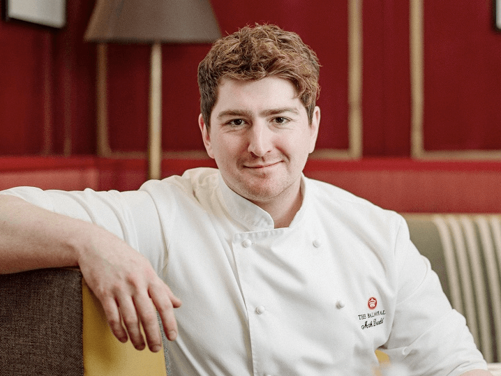 New head chef for Michelin starred restaurant in Edinburgh