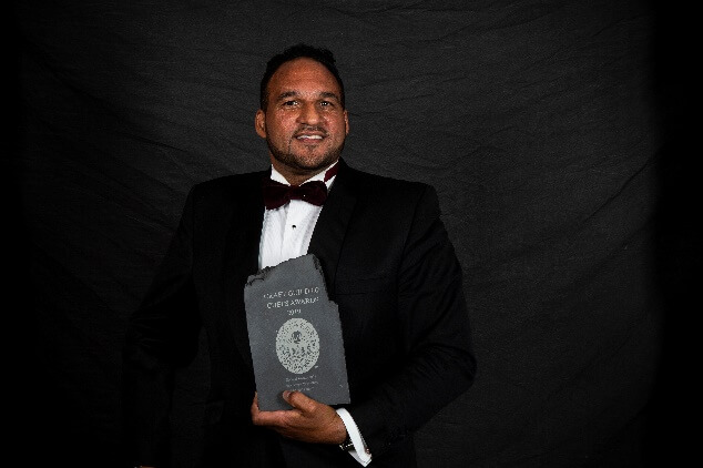 Industry comes out to congratulate Craft Guild of Chefs special award winner Michael Caines